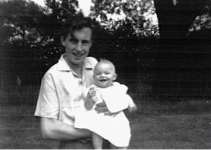 As a baby, with my Dad